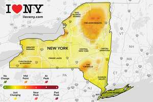 The I Love NY fall foliage report this week, Sept. 15-21.