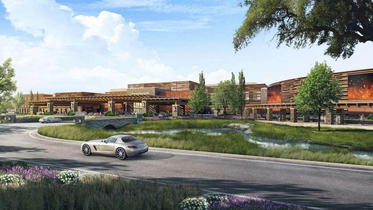 A rendering of the proposed Shiloh Resort & Casino at 222 E. Shiloh Road North of Santa Rosa near the Shiloh Ranch Regional Park.