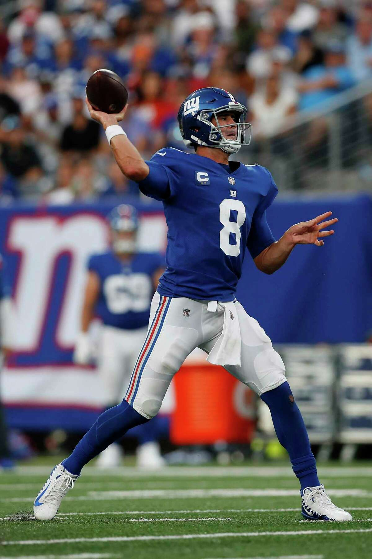 Daniel Jones and the Giants play at Washington at 5:20 p.m. Thursday (NFL Network/1050).