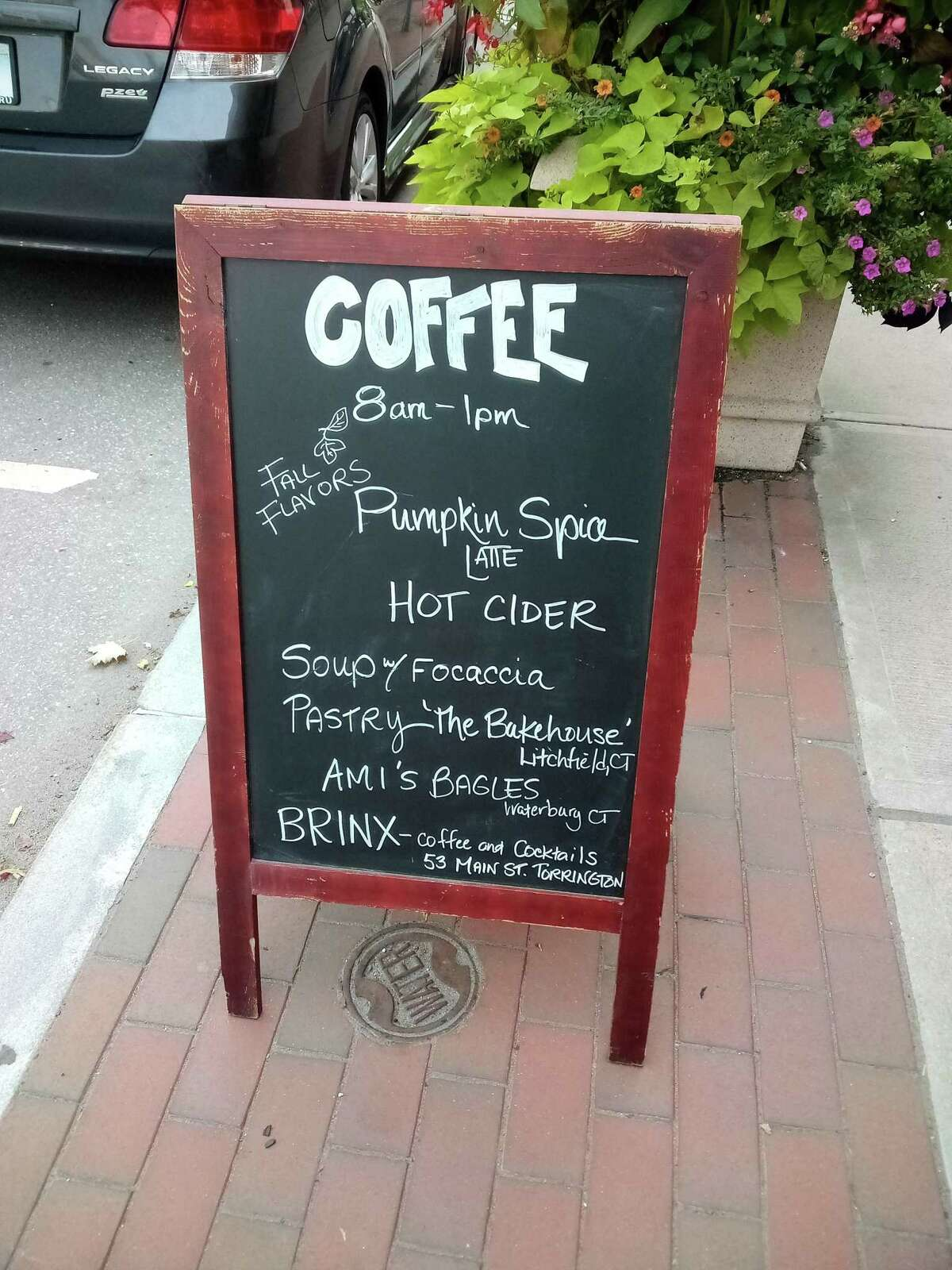 Brinx Kitchen & Bar on Main Street is now selling coffee and treats.