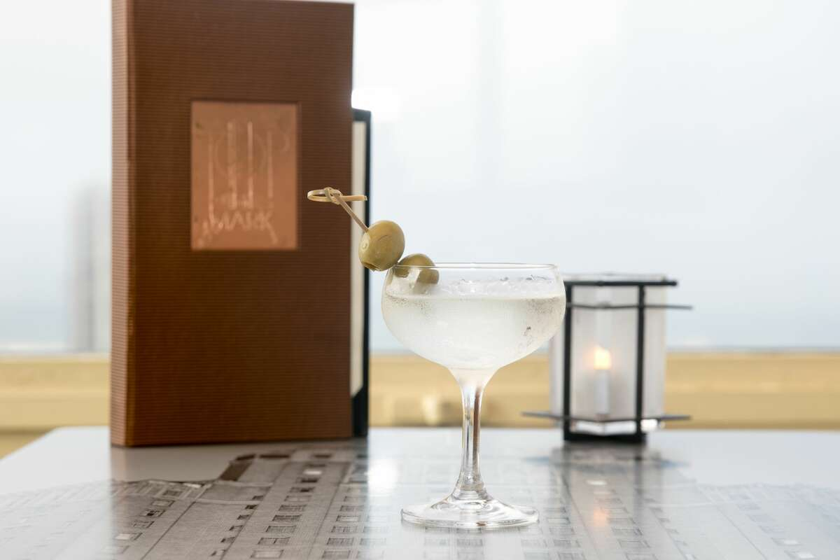 A classic Top of the Mark martini.