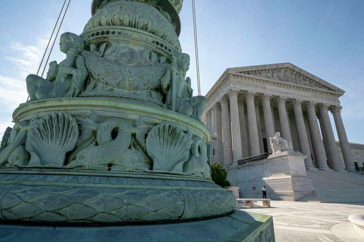 The Supreme Court is seen in Washington in 2019. (AP Photo / J. Scott Applewhite)