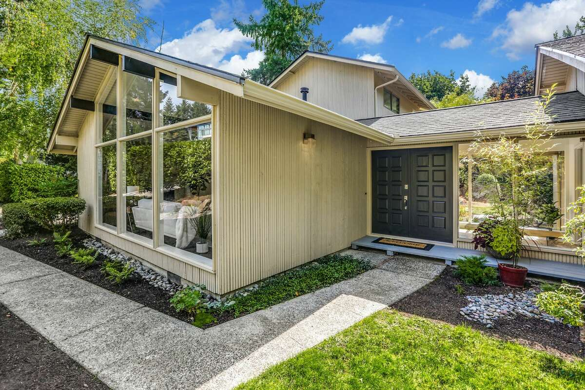 The home is 2,200 square feet with three bedrooms and two bathrooms.