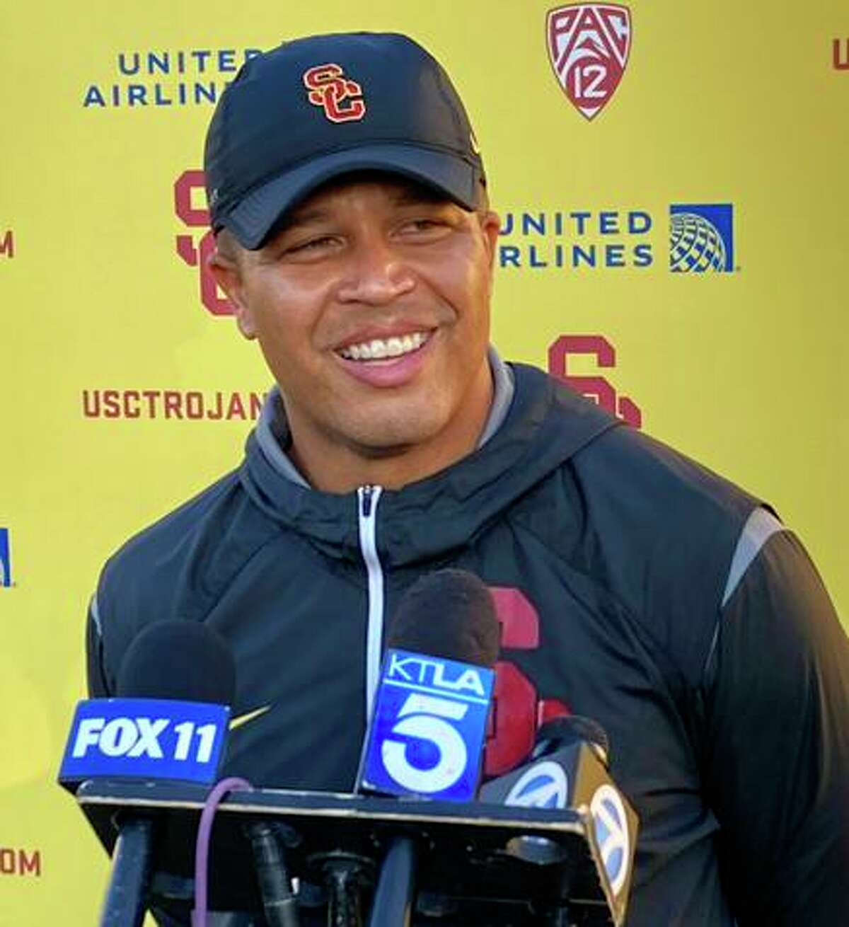 Donte Williams is the first Black football head coach in USC's history.