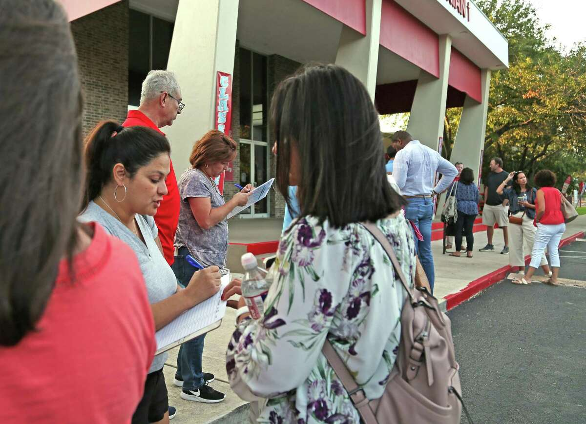 Parents gathered Tuesday at Antonian Preparatory High School in response to the departure of its principal. The Archdiocese's head of Catholic schools said the principal resigned; parents believe he was fired.