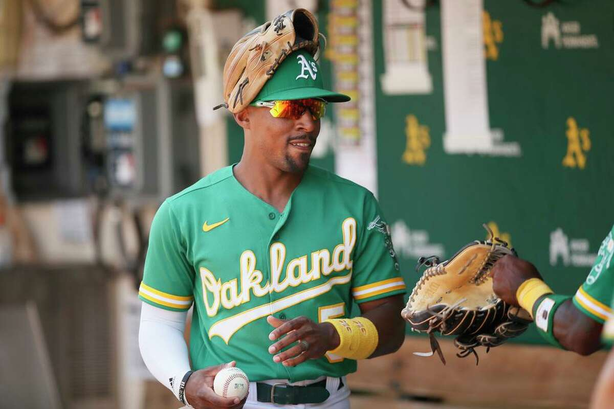 Tony Kemp is the Oakland Athletics' nominee for the Roberto Clemente Award, baseball's top off-field honor, for a second year in a row