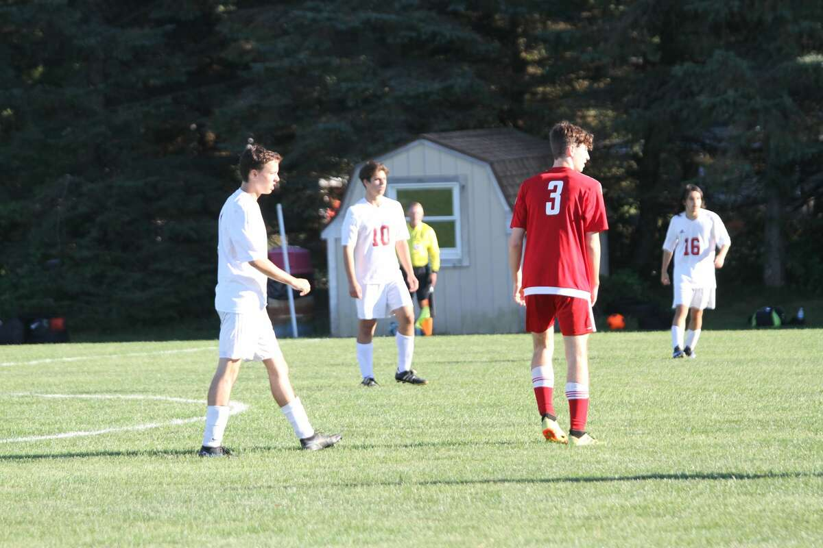 Benzie Central soccer improved to 3-3 following a victory over Suttons Bay on Wednesday afternoon.