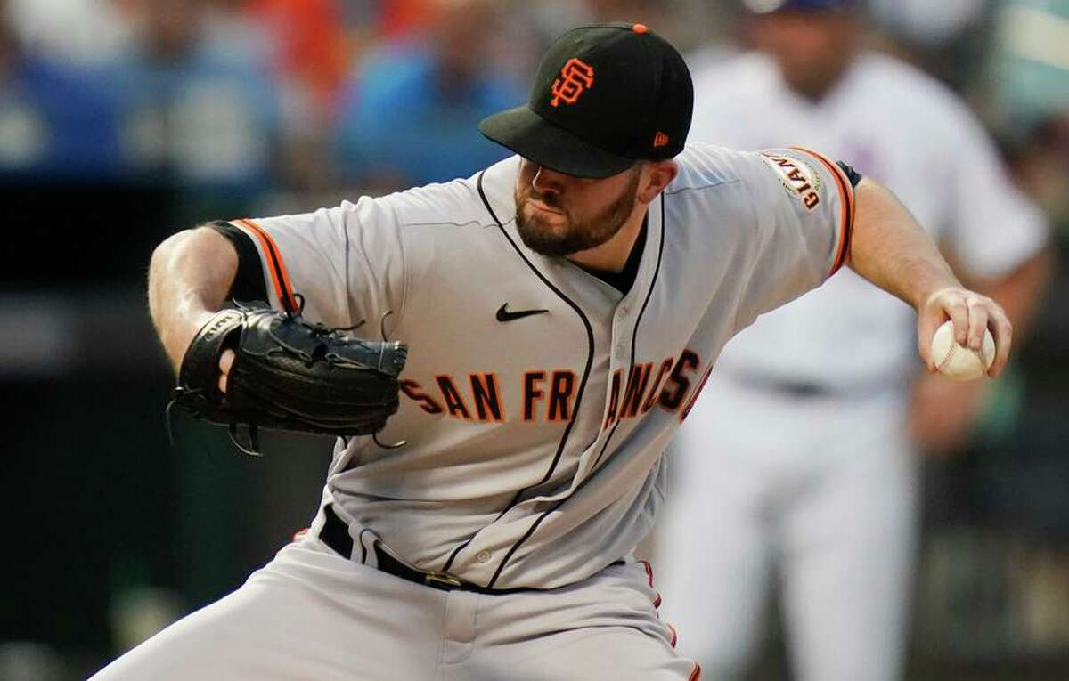 """Giants left-hander Alex Wood last started on Aug. 26 before coming down with a case of COVID that """"got me pretty good."""""""
