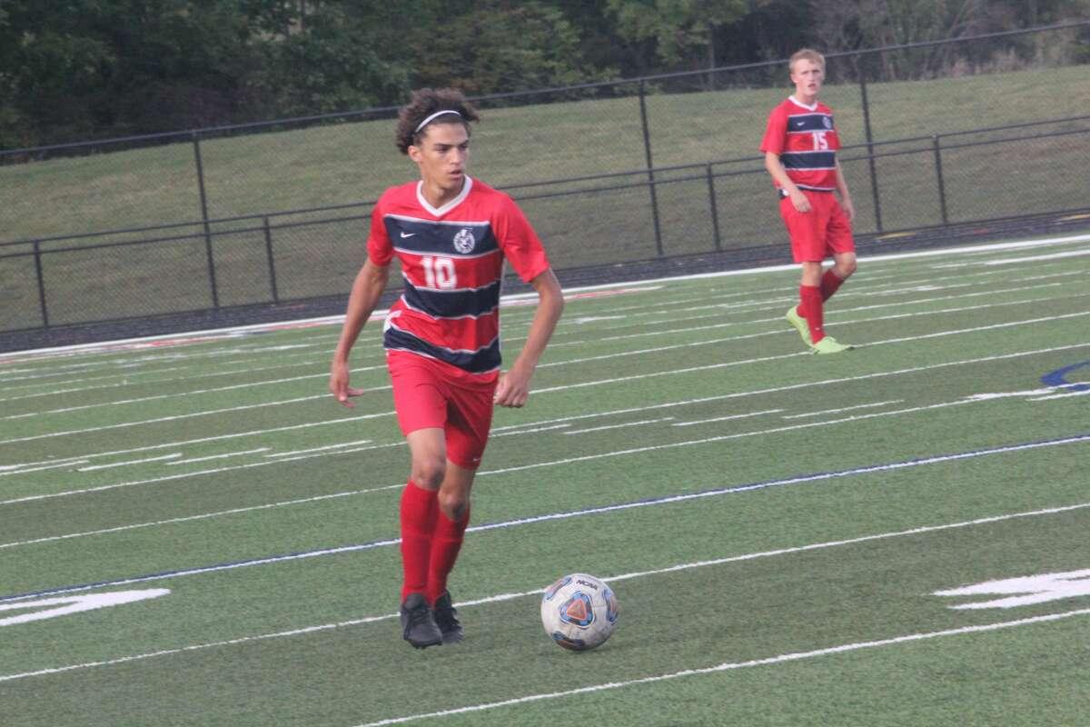 Big Rapids' soccer team mercied Chippewa Hills 8-0 on Tuesday.