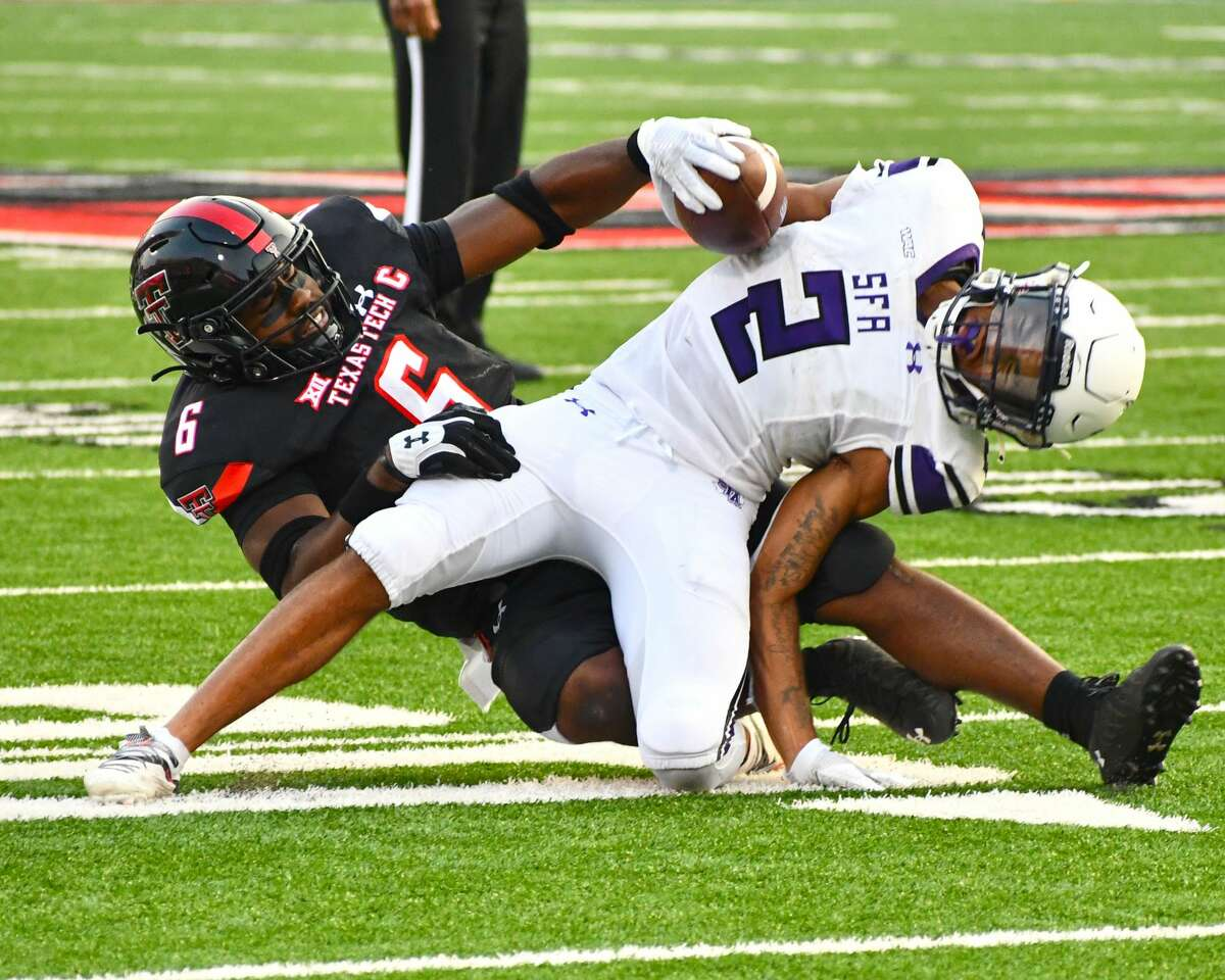 Riko Jeffers and the Texas Tech defense have allowed one touchdown over the last six quarters.