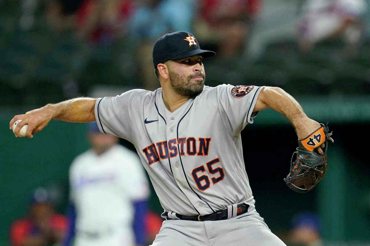José Urquidy turned in six innings of one-run ball to pace the Astros' 7-2 victory over the Rangers on Wednesday.