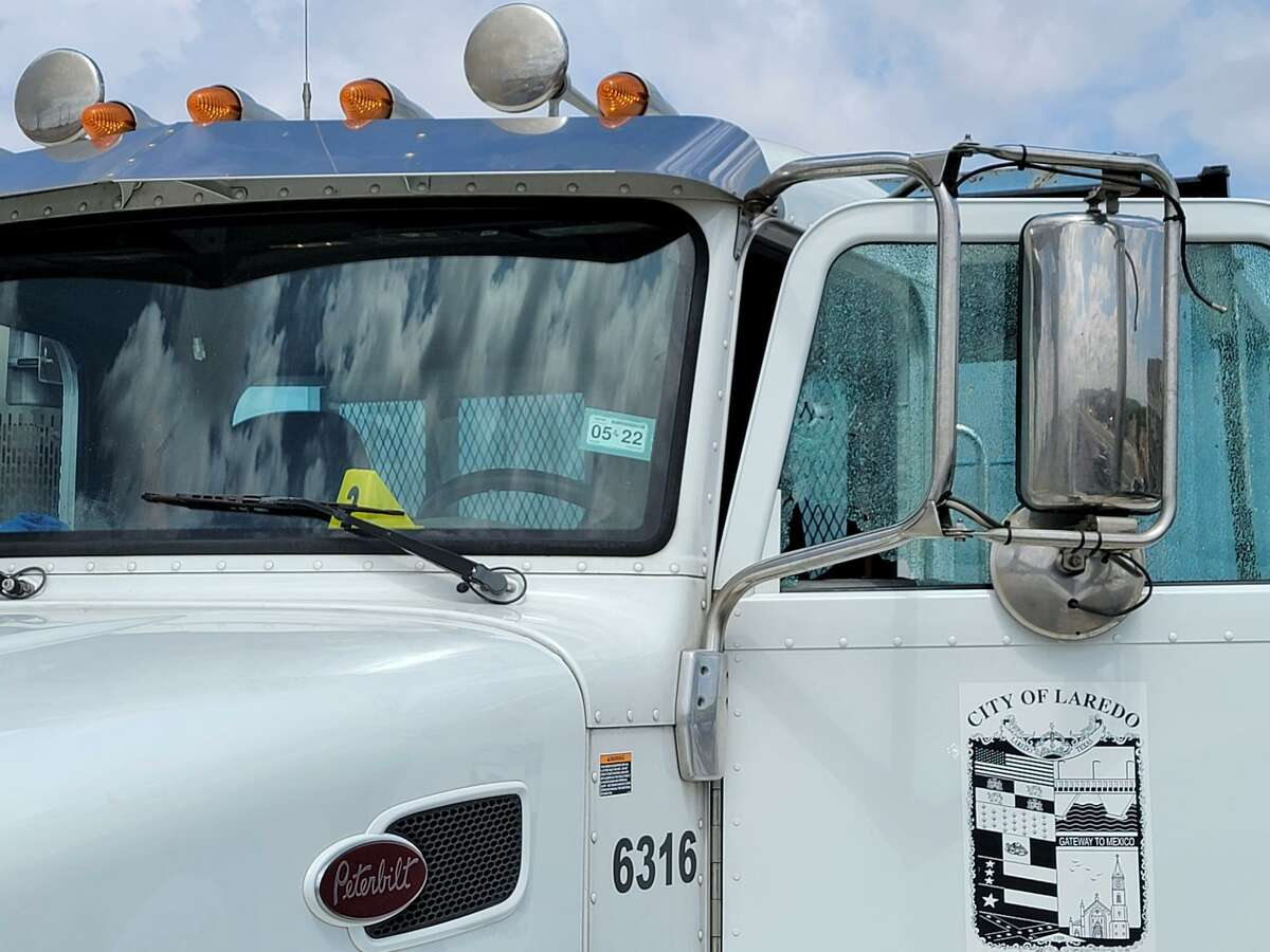 A shot fired shattered the driver side window of a Solid Waste truck. The shooting was the result of an alleged road rage incident reported near the area of the City Hall Annex along Loop 20.