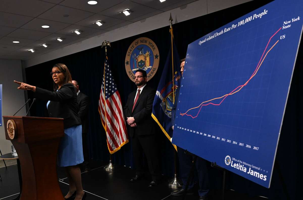New York State Attorney General Letitia James announced the filing of a lawsuit against the manufacturers, Sackler Family, and distributors of opioids for their role in the opioid epidemic on March 28, 2019. The Hudson Valley region is set to receive at least $5.4 million from the Johnson & Johnson settlement.