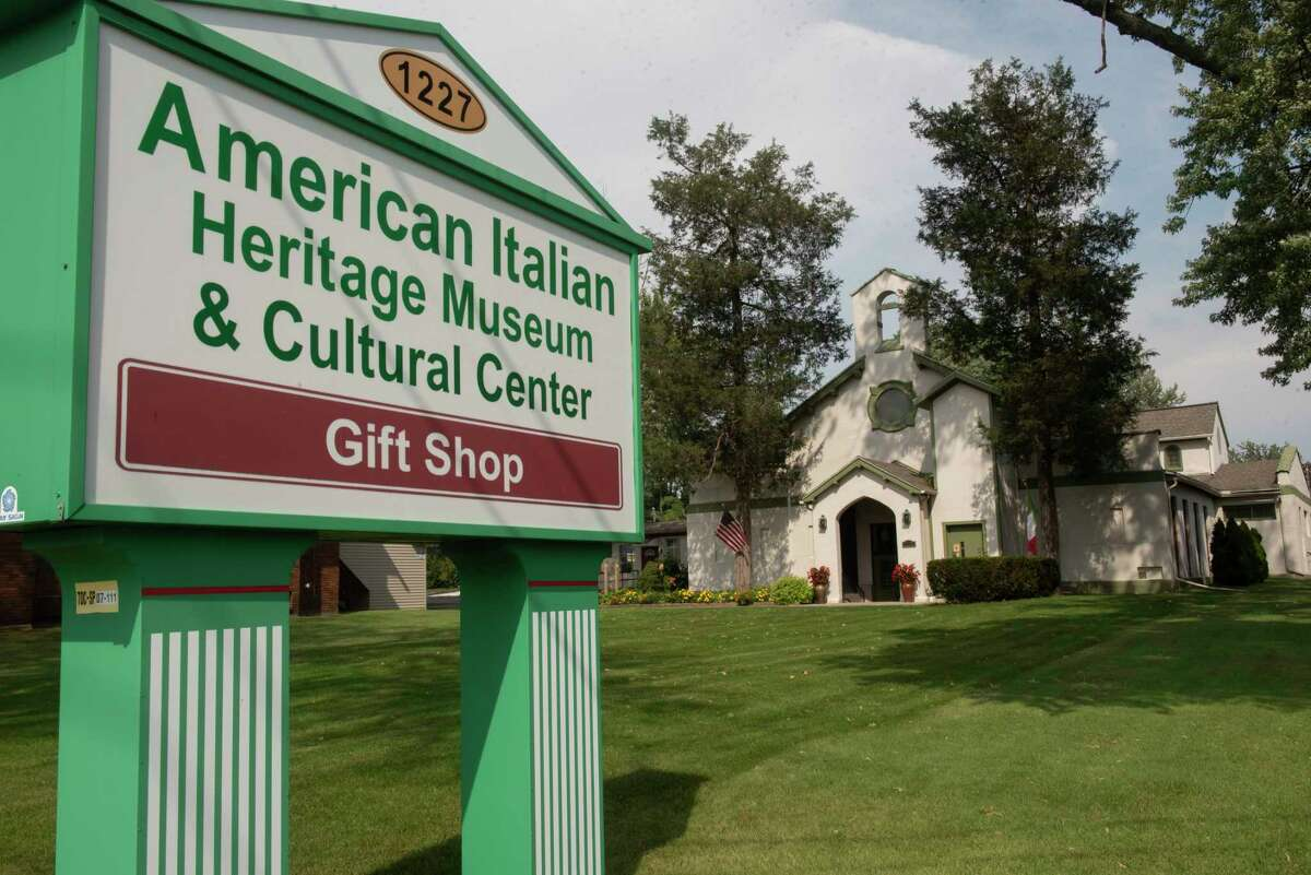 Exterior of the American Italian Heritage Museum on Wednesday, Sept. 15, 2021 in Albany, N.Y.