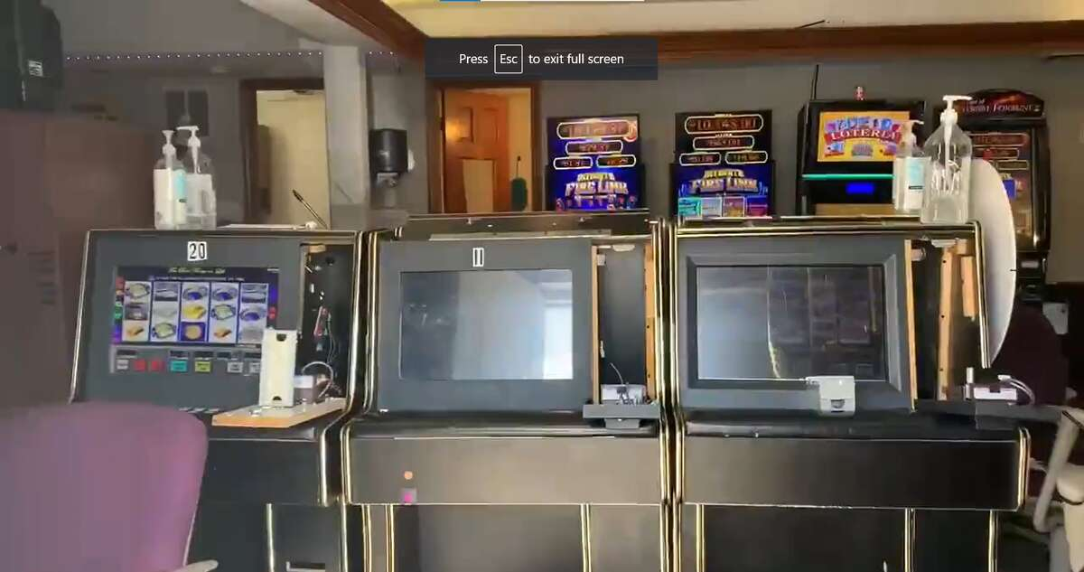 Seven people were arrested after the Bexar County Sheriff's Office conducted raids Wednesday on two illegal gambling operations on the Northeast Side, Sheriff Javier Salazar said during a news conference.