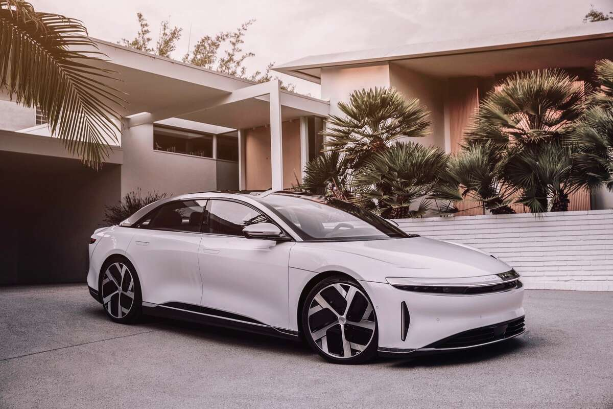 The Lucid Lucid Air electic vehicle.