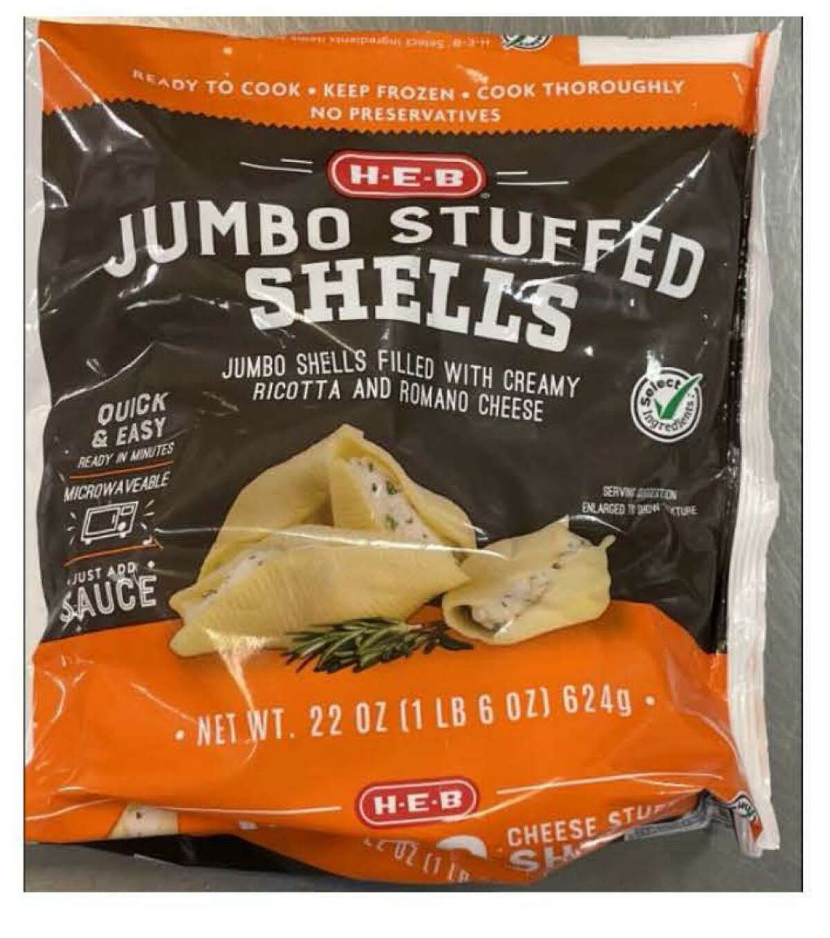 The San Antonio-based company announced on its website on Tuesday, September 14 that the H-E-B jumbo stuffed shells were pulled from the store due to a potential presence of foreign material. The shells are made by Seviroli Foods, Inc.