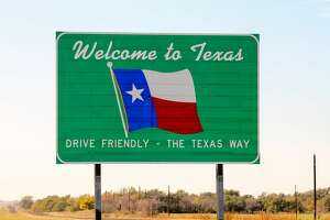 We do not drive friendly in Texas.
