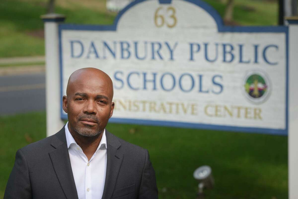 Superintendent of Schools Kevin Walston, in Danbury, Conn. Sept. 15, 2021.