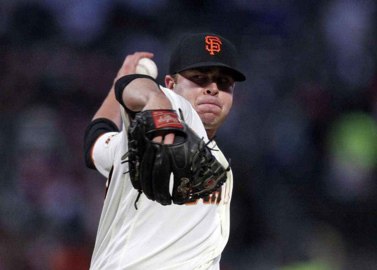 The Giants recalled left-hander Sammy Long (73) from Triple-A Sacramento before Thursday's game against the Padres.