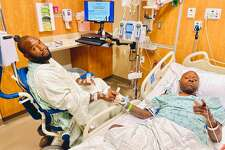 Houston rapper Scarface received a life-saving kidney transplant from his son Christopher Jordan following his battle with COVID-19.