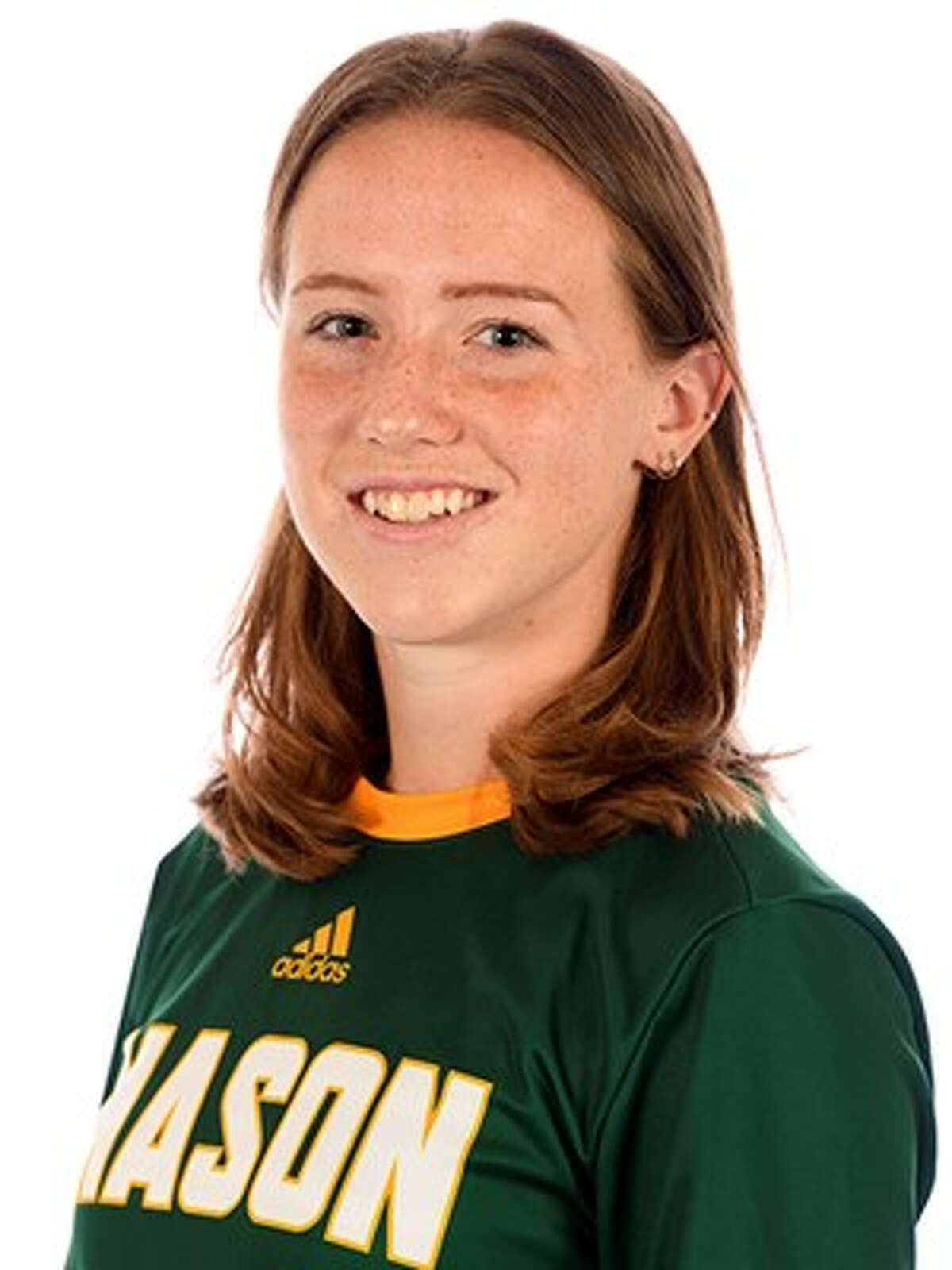 Junior midfielder Grace Hotaling, from Delmar and a Bethlehem High graduate, plays for the George Mason women's soccer team.