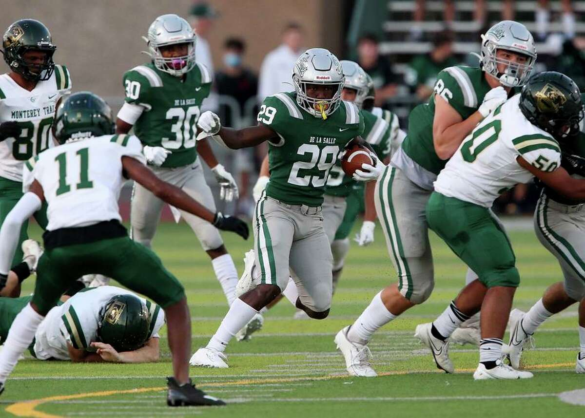 Zeke Berry and his De La Salle-Concord teammates won't have it easy in any of the next three weeks as they try to rebound from last week's stunning loss to St. Francis.