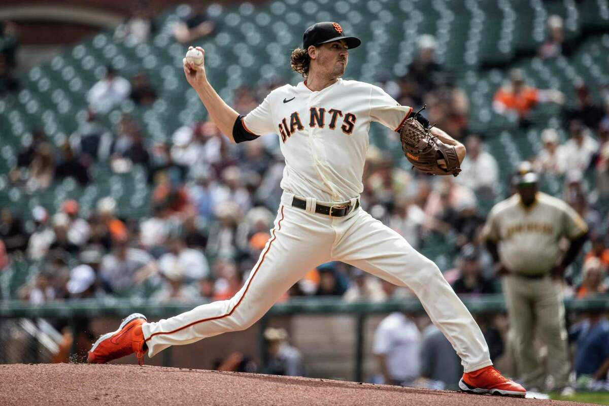 Giants pitcher Kevin Gausman will start Game 2 against the Dodgers inthe National League Division Series.