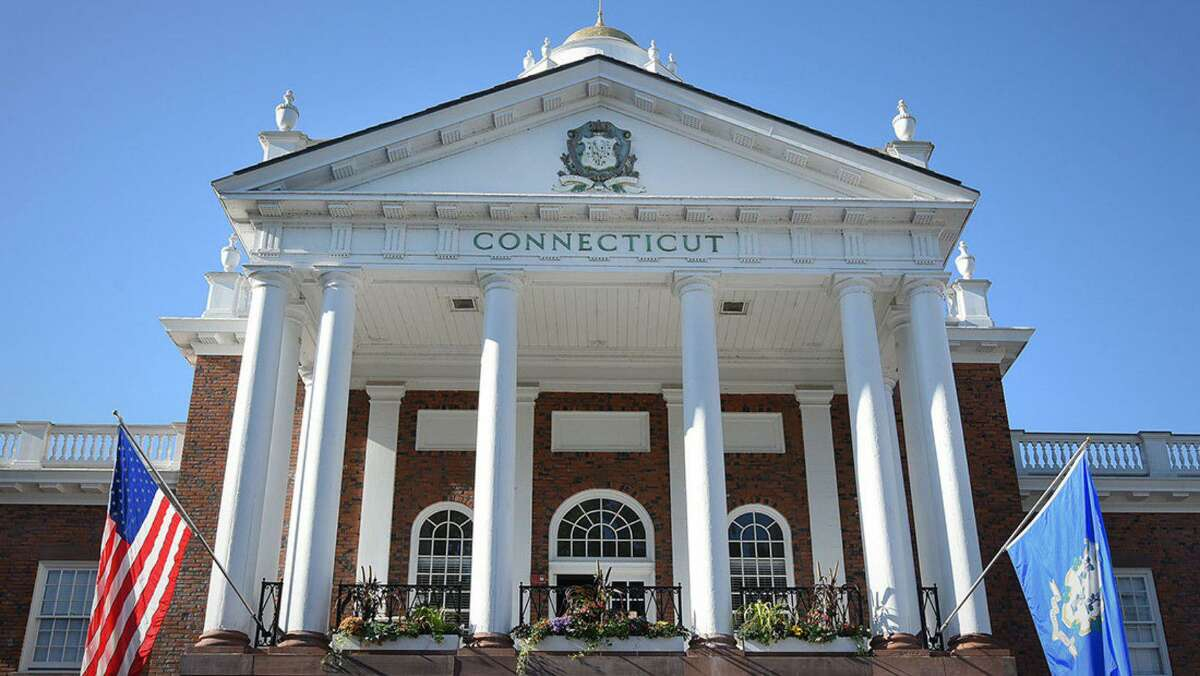 The Connecticut building at the Big E.