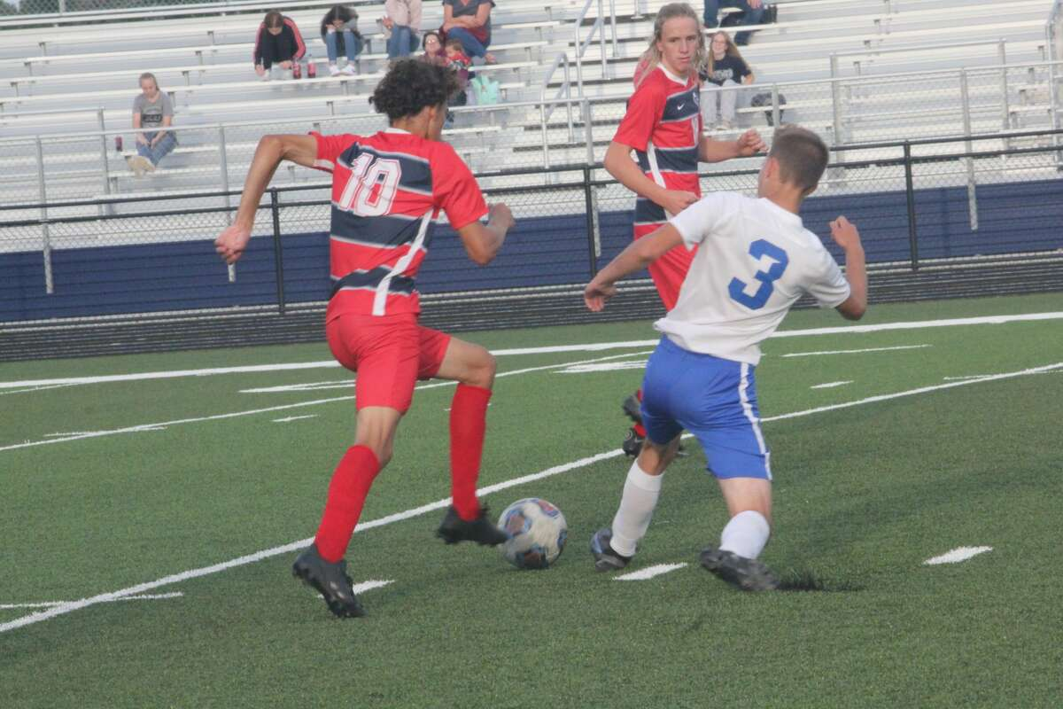 Big Rapids' soccer team remained undefeated with a 2-1 edge of Kent City on Thursday.
