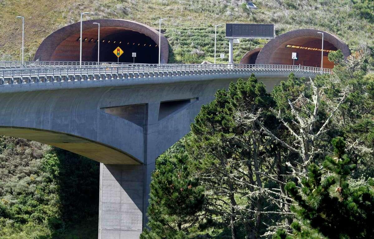 The Tom Lantos tunnels move motorists past the treacherous Devil's Slide.