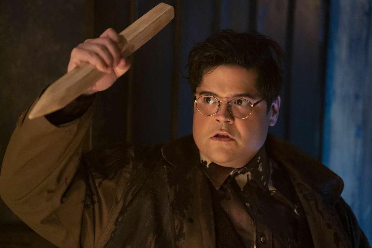 "Harvey Guillén goes full Van Helsing in season 3 opener, ""The Prisoner."""