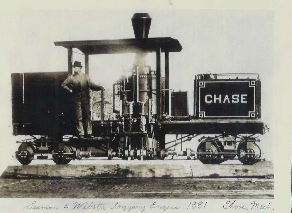 Chase, one of the earliest towns in Lake County, had the Flint and Pere Marquette Railroad, a major line from Ludington to Saginaw, running through it. Farmers were able to utilize the railroad for business, making Chase a center for pickle operations. (Courtesy photo/Chase Township Public Library)