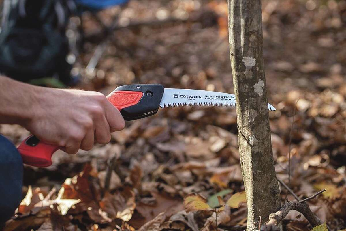 A 7-inch RazorTooth folding saw is perfect for removing small or medium sized dead or diseased branches from shrubs and small trees in the fall.