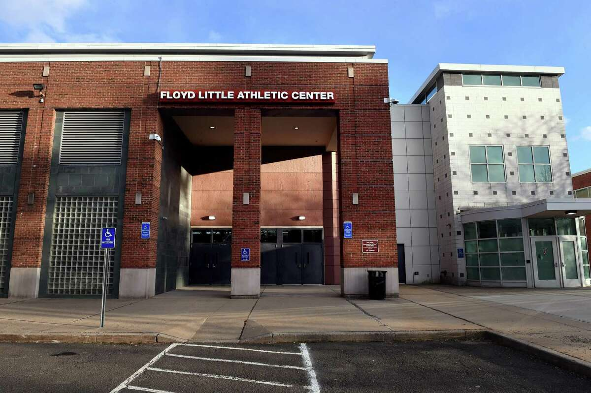 The Floyd Little Athletic Center in New Haven photographed on January 20, 2021.