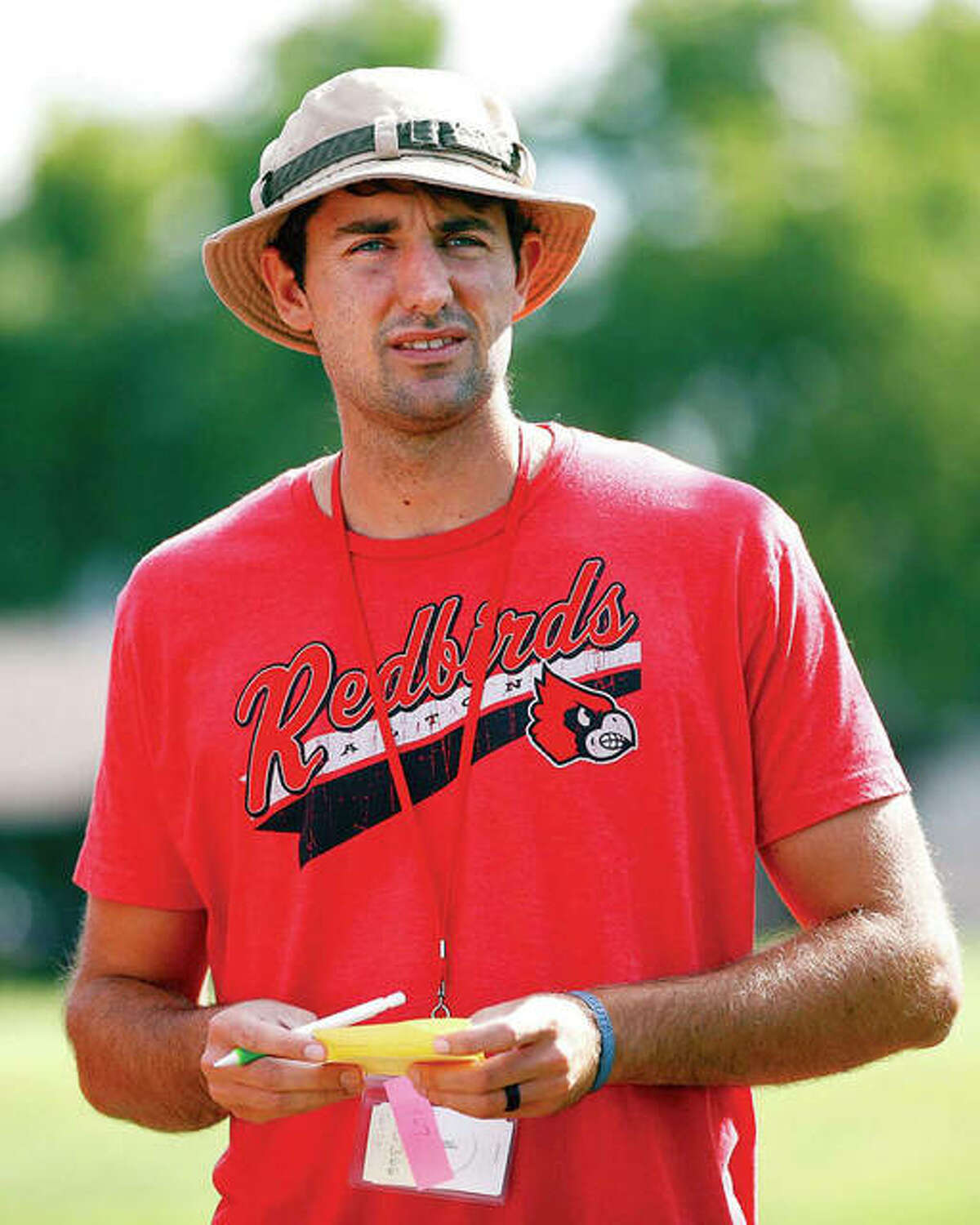 Alton High School's Robert Logan Invitational tennis tournament set for Saturday is named for the late Robert Logan, a former coach at AHS and player at Marquette Catholic and LCCC, who died in 2016 at the age of 30 from a rare form of liver cancer. the 10-team tournament will be played at various sites around the Riverbend.
