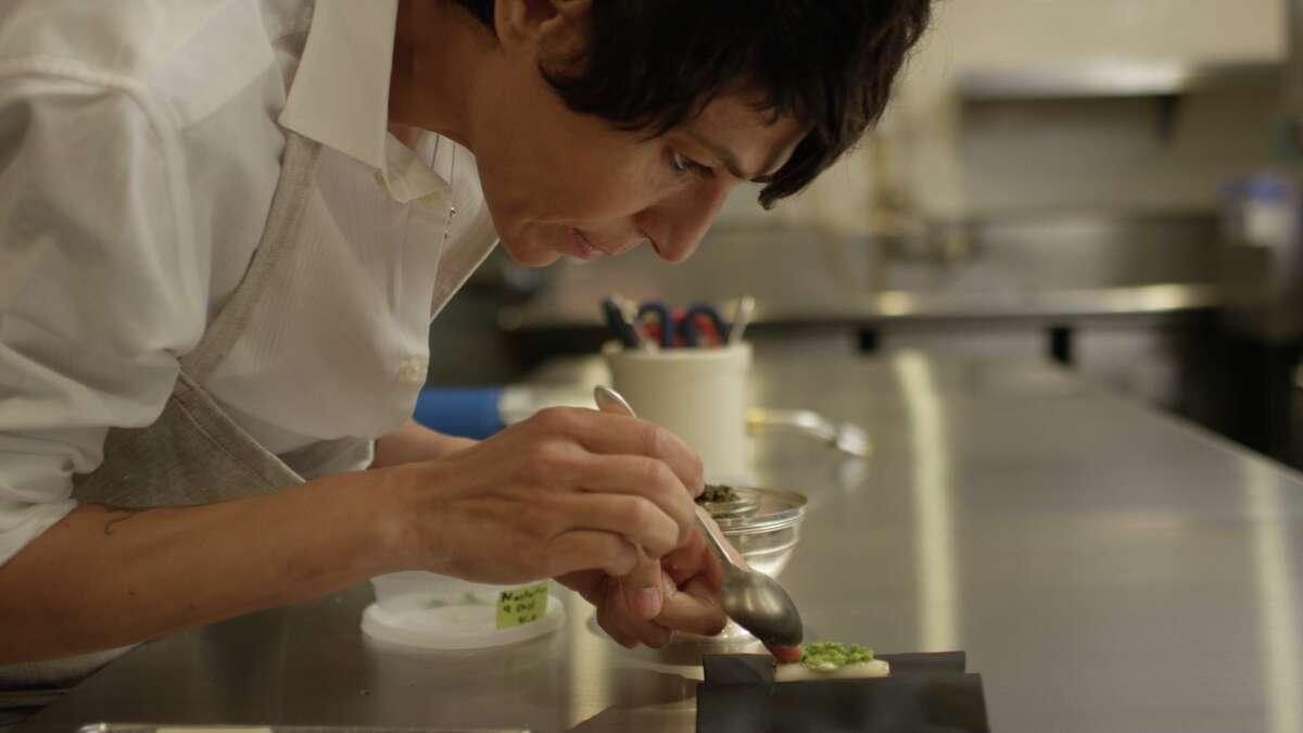 "Celebrated chef Dominique Crenn appears in ""A Fine Line."""