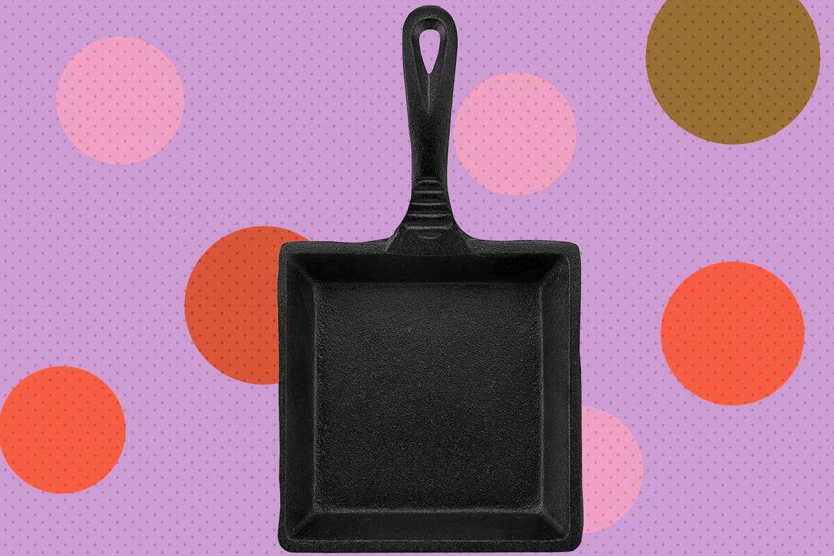 CasaModa mini cast iron square pan