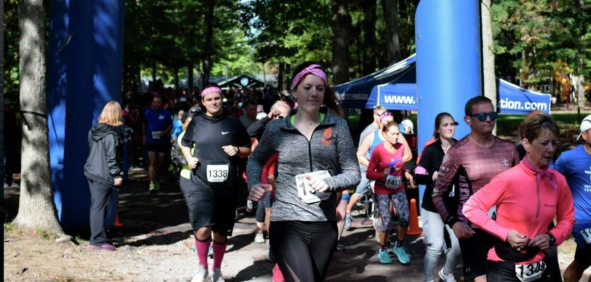 Multiple people participated in the 2019 Traverse City Track Club Good Fight 5K. (Courtesy Photo)