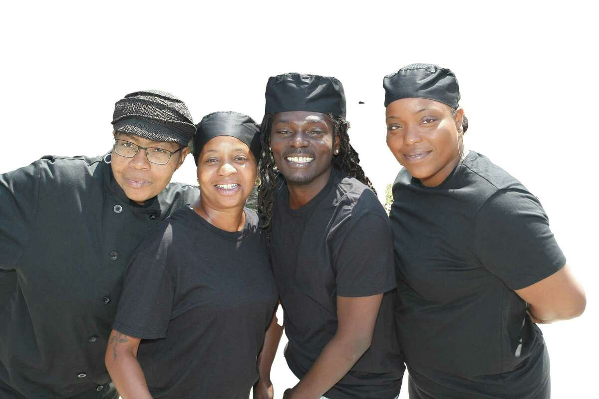 Soul on a Roll food truck chefs, from left to right: Sarah Germany, Keshia Evans, Howard Harrison and GaQuayla LaGrone.