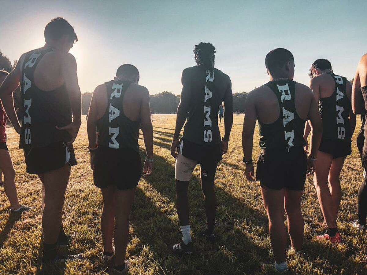 The Mayde Creek boys cross country team took five of the top six spots Sept. 11 at the Mayde Creek XC Invite, winning the team championship with 16 points.