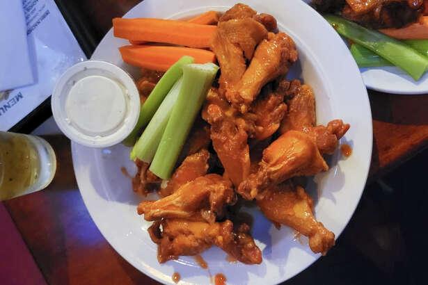 The Buffalo wings at Kezar Pub on Stanyan Street.
