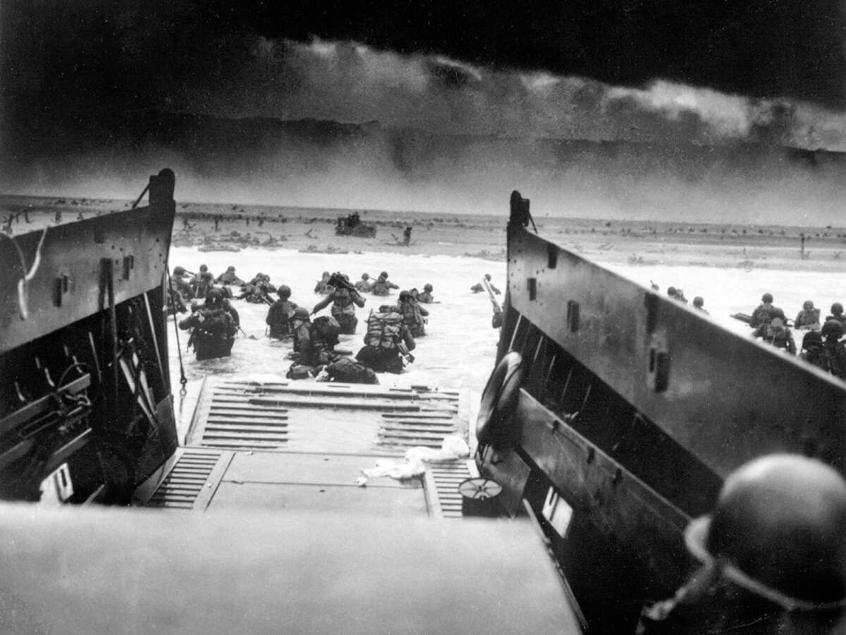 As Americans continue to fight over masks and vaccines, readers continue to wonder what members of the Greatest Generation would think. Here, soldiers land on the beach on D-Day in Normandy, France.