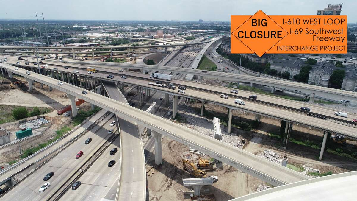 The closure will last for 12 hours each day this weekend.