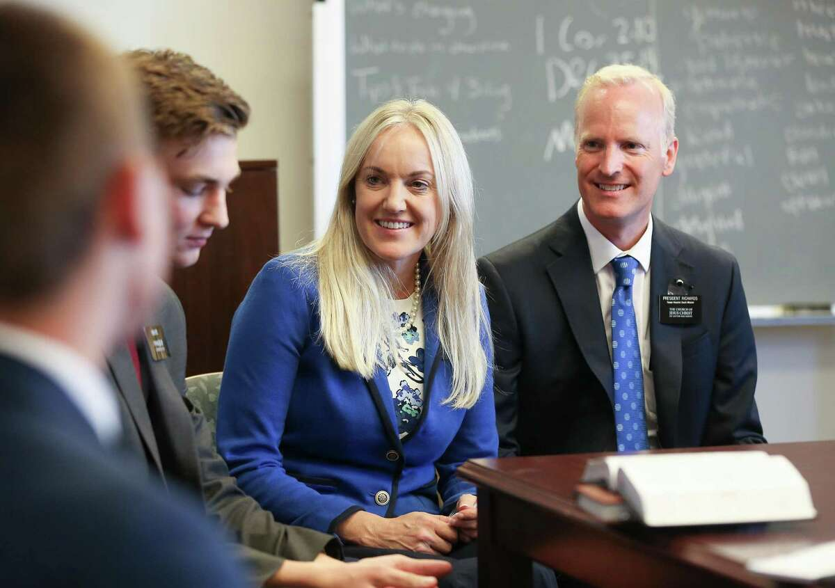 The Richardses left Salt Lake City to come to Texas for the three-year volunteer post working with Mormon missionaries.