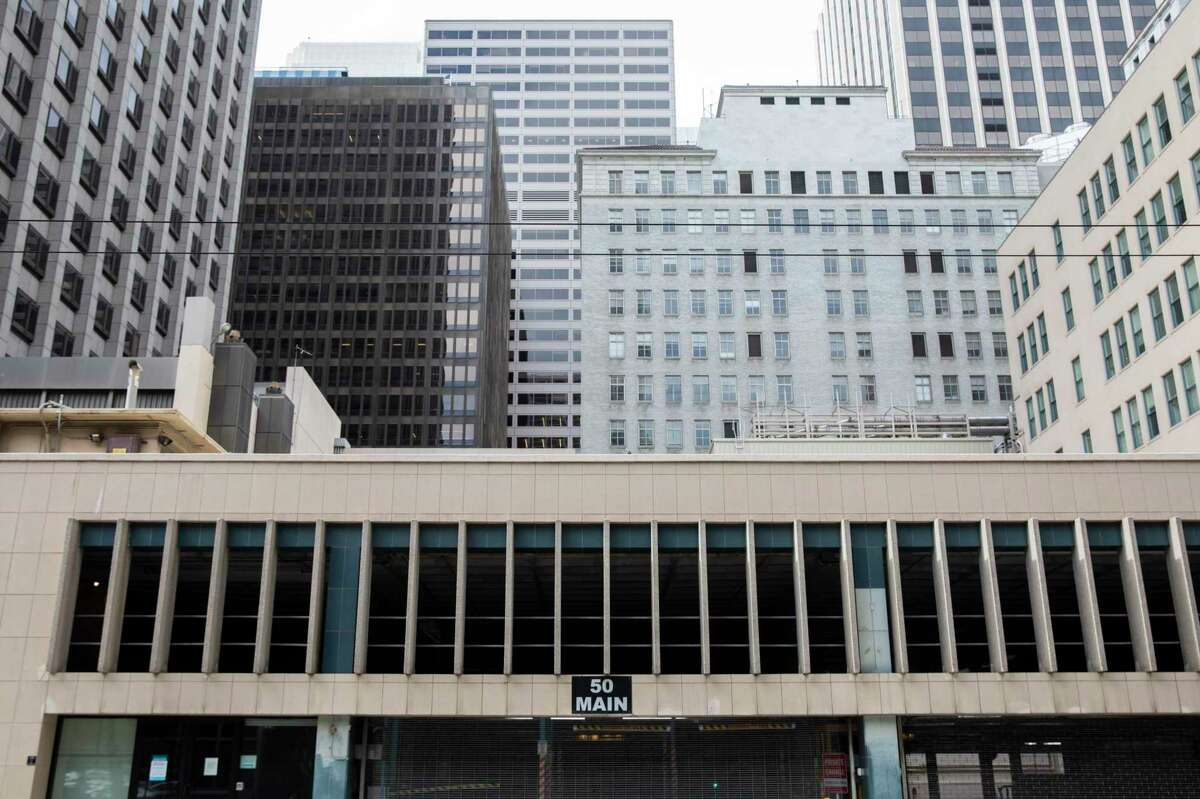 A parking garage at 50 Main St. behind the historic PG&E headquarters is the site for the 800-foot residential tower.
