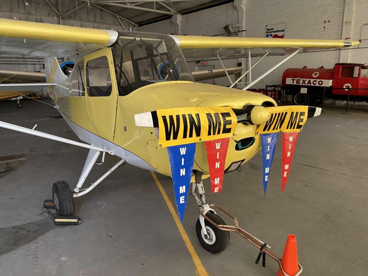This is one of the many planes that the museum has raffled off over the years.