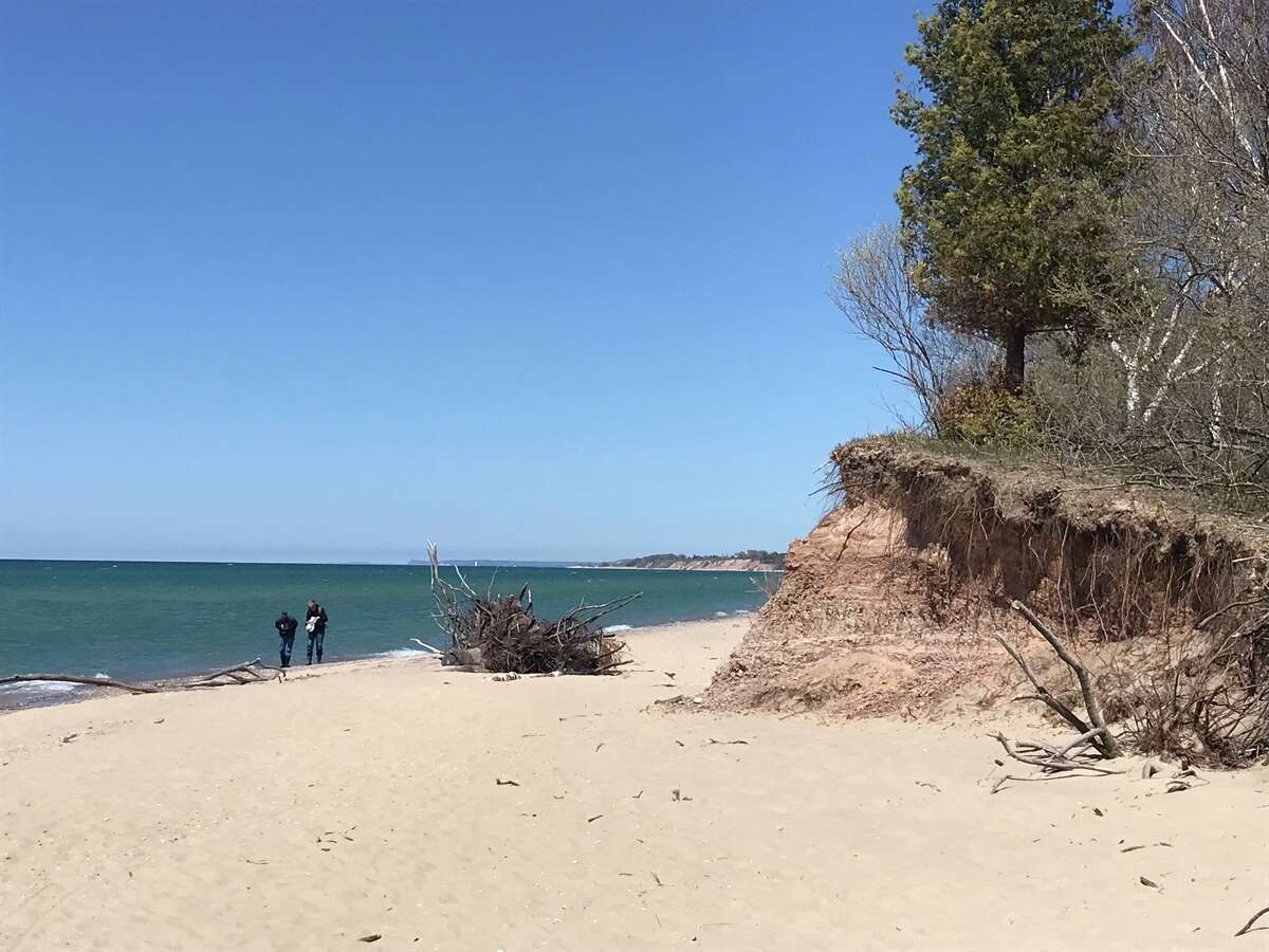 Mobile phone users can access the PicShores app to upload the information and photos to catalog events like erosion or bluff failure. That information goes into a larger Great Lakes database.