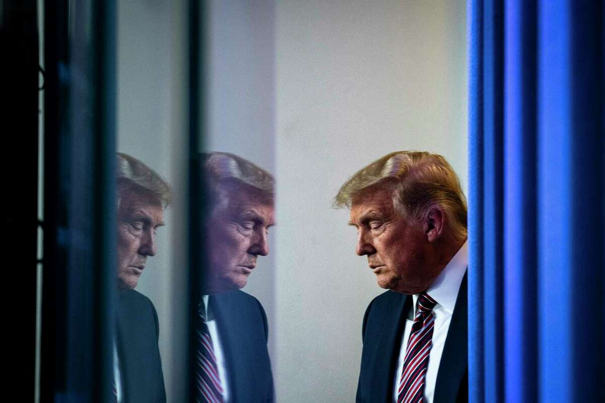 Donald Trump, in the last days of his presidency, found no support in the law for his efforts to overturn the election, so he threatened to turn to mob rule, Bob Woodward and Robert Costa write.