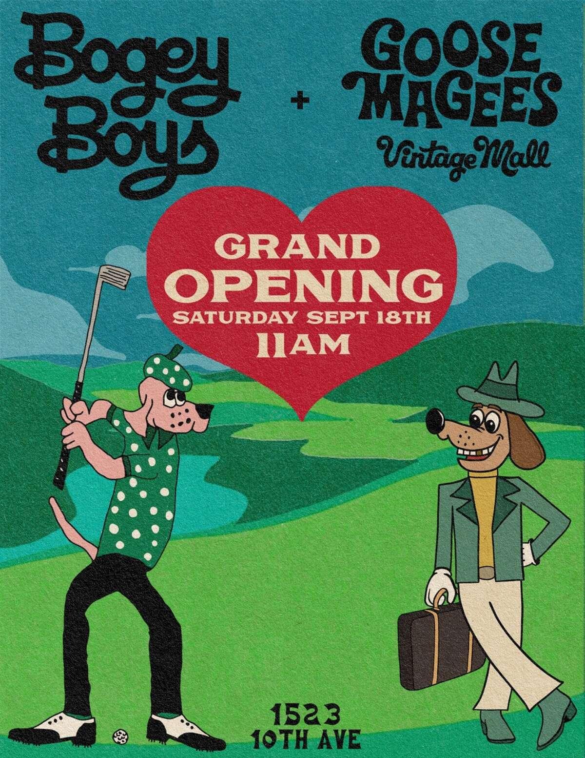 Bogey Boys Grand Opening Flyer